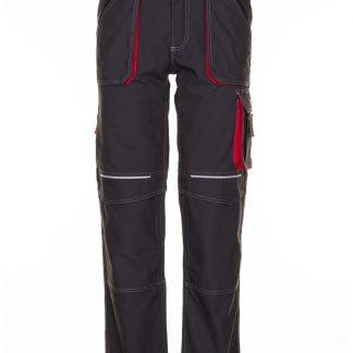 Basalt Arbeitskleidung Bundhose anthrazit/rot