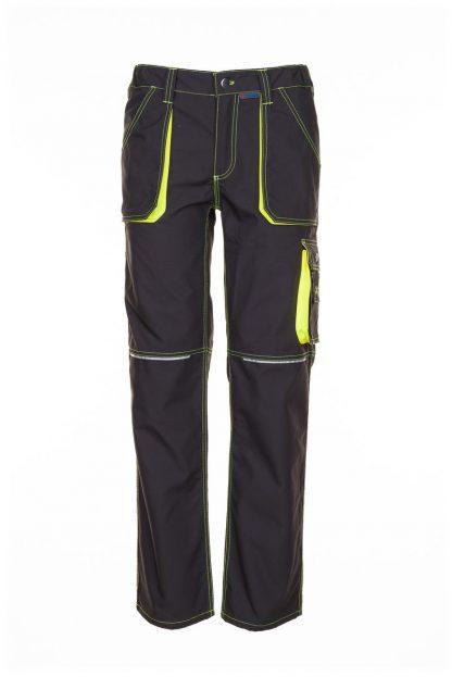 Basalt Neon Arbeitskleidung Bundhose anthrazit/gelb