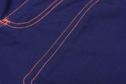 Basalt Neon Arbeitskleidung Bundhose marine/orange