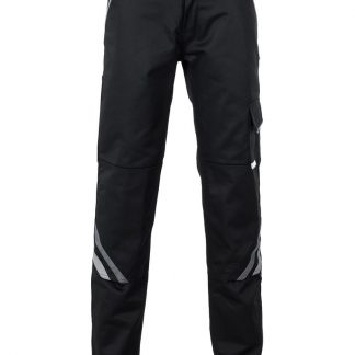 Highline Arbeitskleidung Damen Bundhose schwarz/schiefer/zink