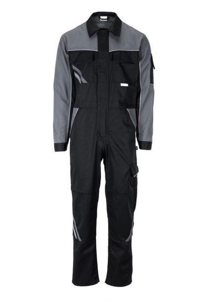 Highline Arbeitskleidung Rallyekombi schwarz/schiefer/zink
