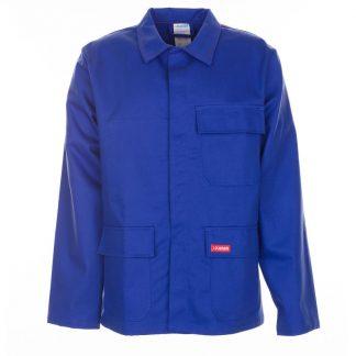 Jacke 360 g/m² Hitze-/Schweißerschutz kornblau
