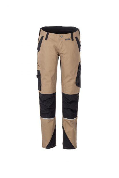 Norit Arbeitskleidung Damen Bundhose sand/schwarz