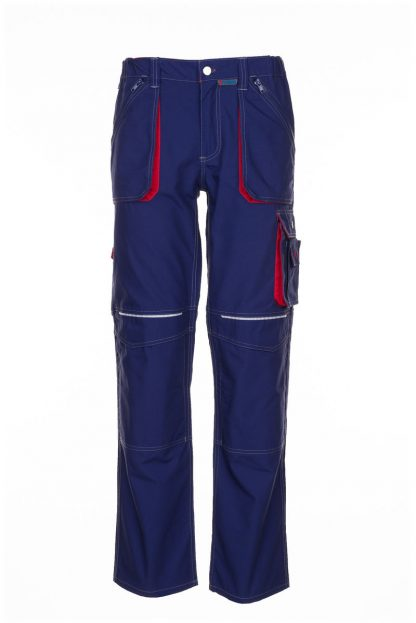 Basalt Arbeitskleidung Bundhose marine/rot