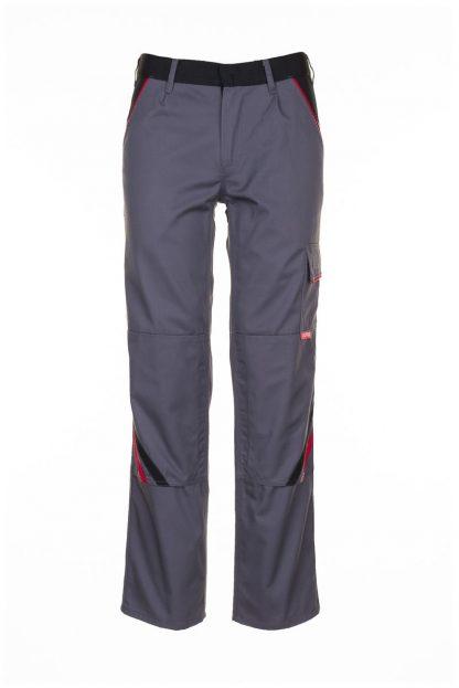 Highline Arbeitskleidung Bundhose schiefer/schwarz/rot
