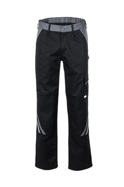 Highline Arbeitskleidung Bundhose schwarz/schiefer/zink
