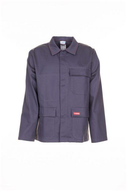 Hitze-/Schweißerschutz Jacke 400 g/m² grau