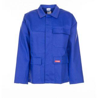 Hitze-/Schweißerschutz Jacke 400 g/m² kornblau