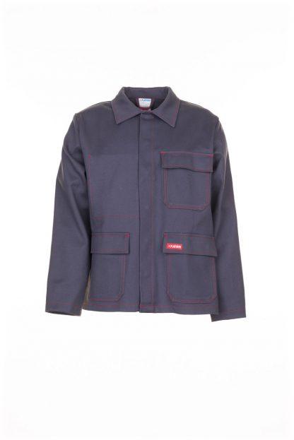 Hitze-/Schweißerschutz Jacke 500 g/m² grau