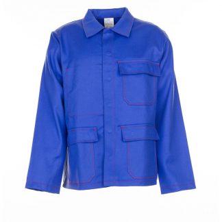Hitze-/Schweißerschutz Jacke 500 g/m² kornblau