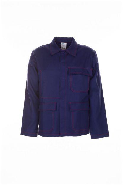 Hitze-/Schweißerschutz Jacke 500 g/m² marine