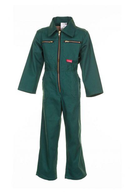 Kinderbekleidung Kinder-Rallyekombi mittelgrün