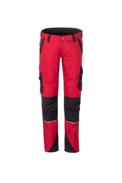 Norit Arbeitskleidung Damen Bundhose rot/schwarz