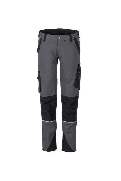 Norit Arbeitskleidung Damen Bundhose schiefer/schwarz