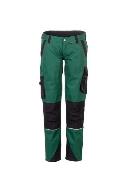 Norit Arbeitskleidung Damen Bundhose grün/schwarz