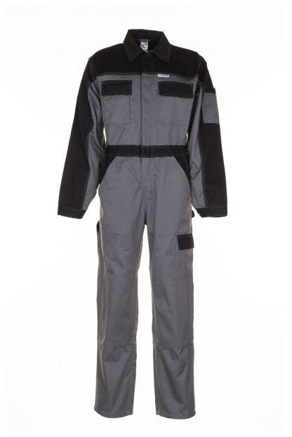 Tristep Arbeitskleidung Rallyekombi grau/schwarz