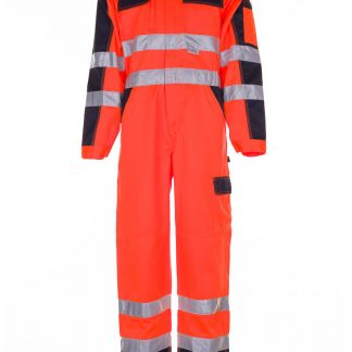 Warnschutz Rallyekombi orange/marine