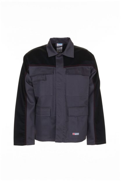 Weld Shield Jacke grau/schwarz