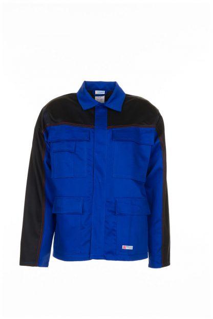 Weld Shield Jacke kornblau/schwarz